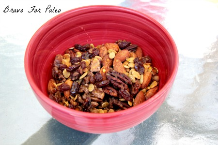 This Paleo Nut Mix Recipe is easy to assemble and great for a healthy snack.