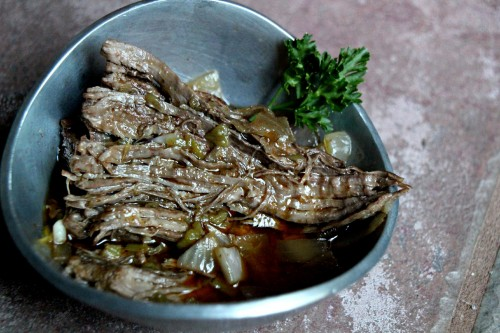 Looking for a recipe you can just throw in the pot and let it cook. Try this Paleo Crockpot Flank Steak Recipe.