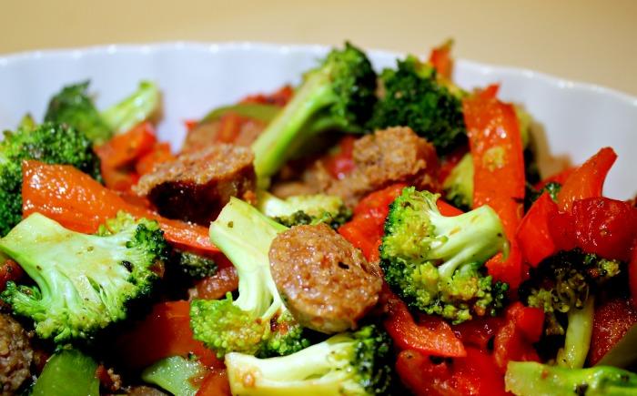 italian sausage stir fry