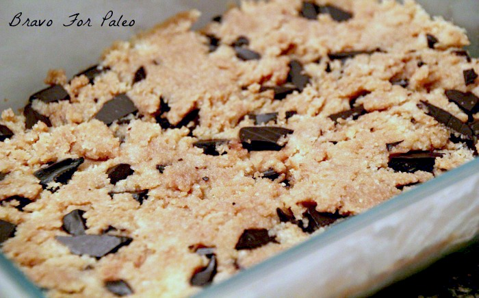 Paleo Cookie Dough Bar
