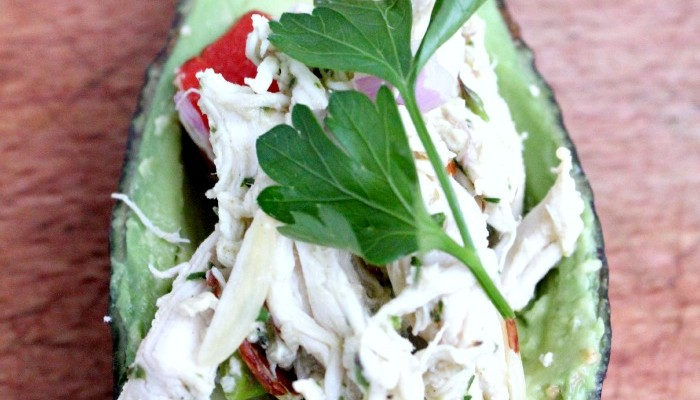 Paleo Chicken Salad with Fresh Herb Dressing