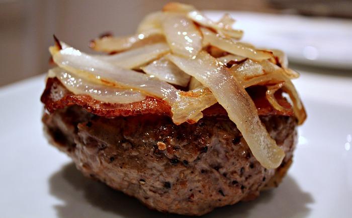 grass-fed paleo hamburger