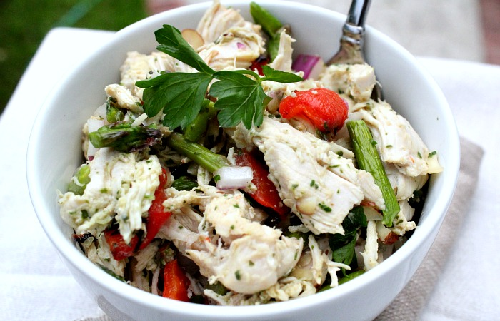 All I can say about this recipe is wow. It is truly like no other Paleo Chicken Salad.