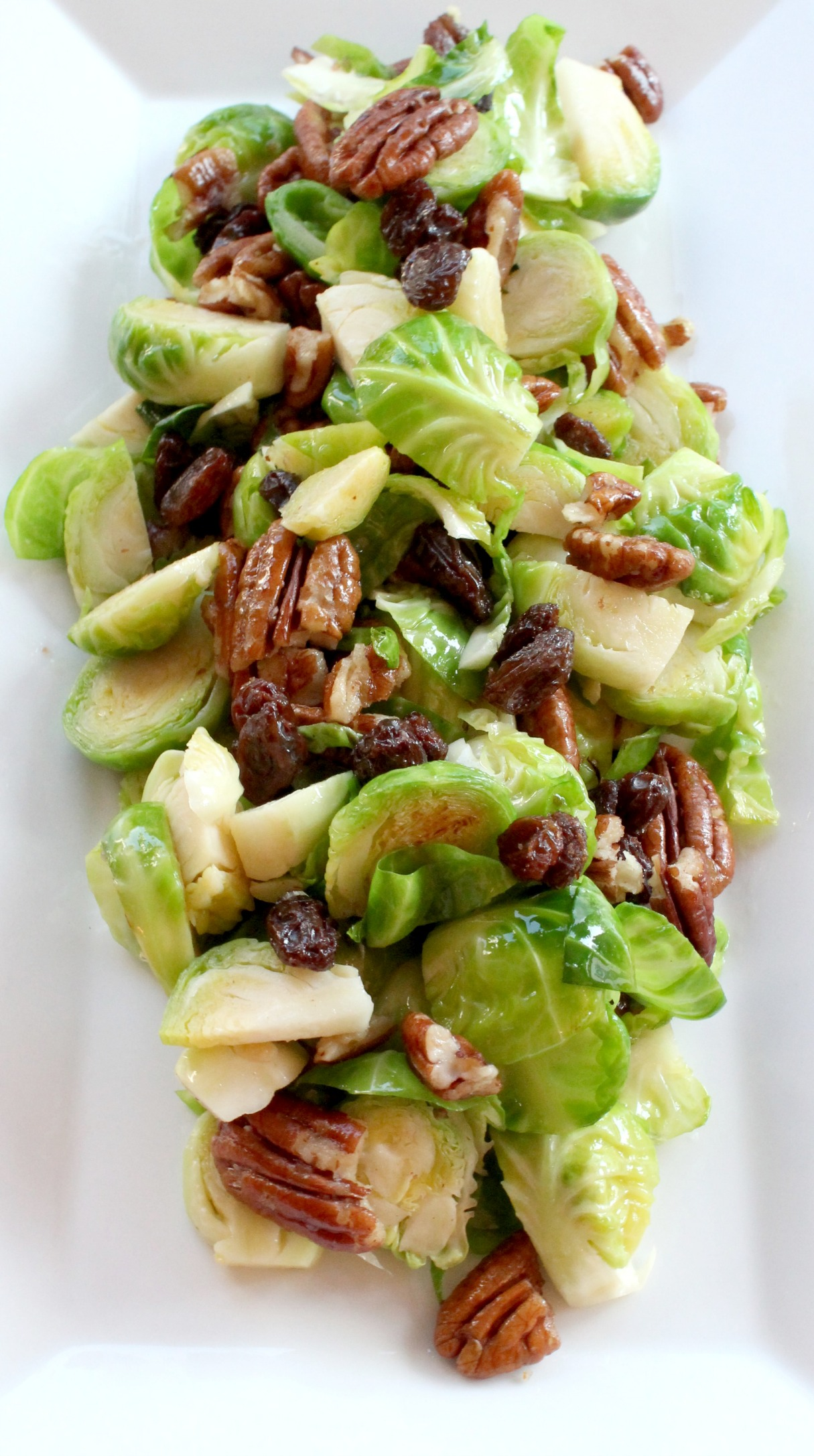Looking for an easy but appealing appetizer? This brussel sprout salad recipe is a great side dish and perfect for entertaining.