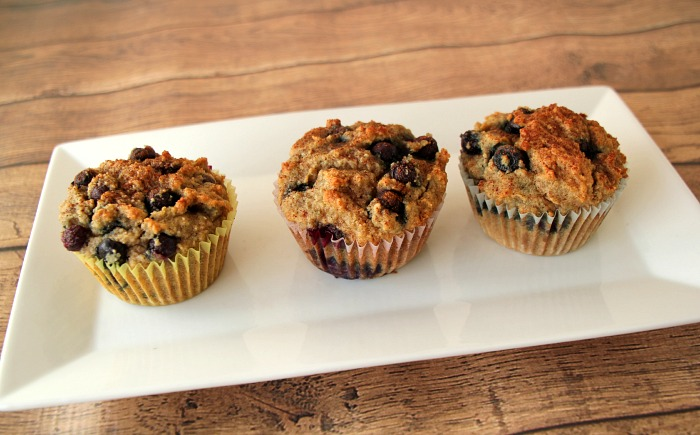 Better than Starbucks, Paleo Blueberry Muffin Recipe