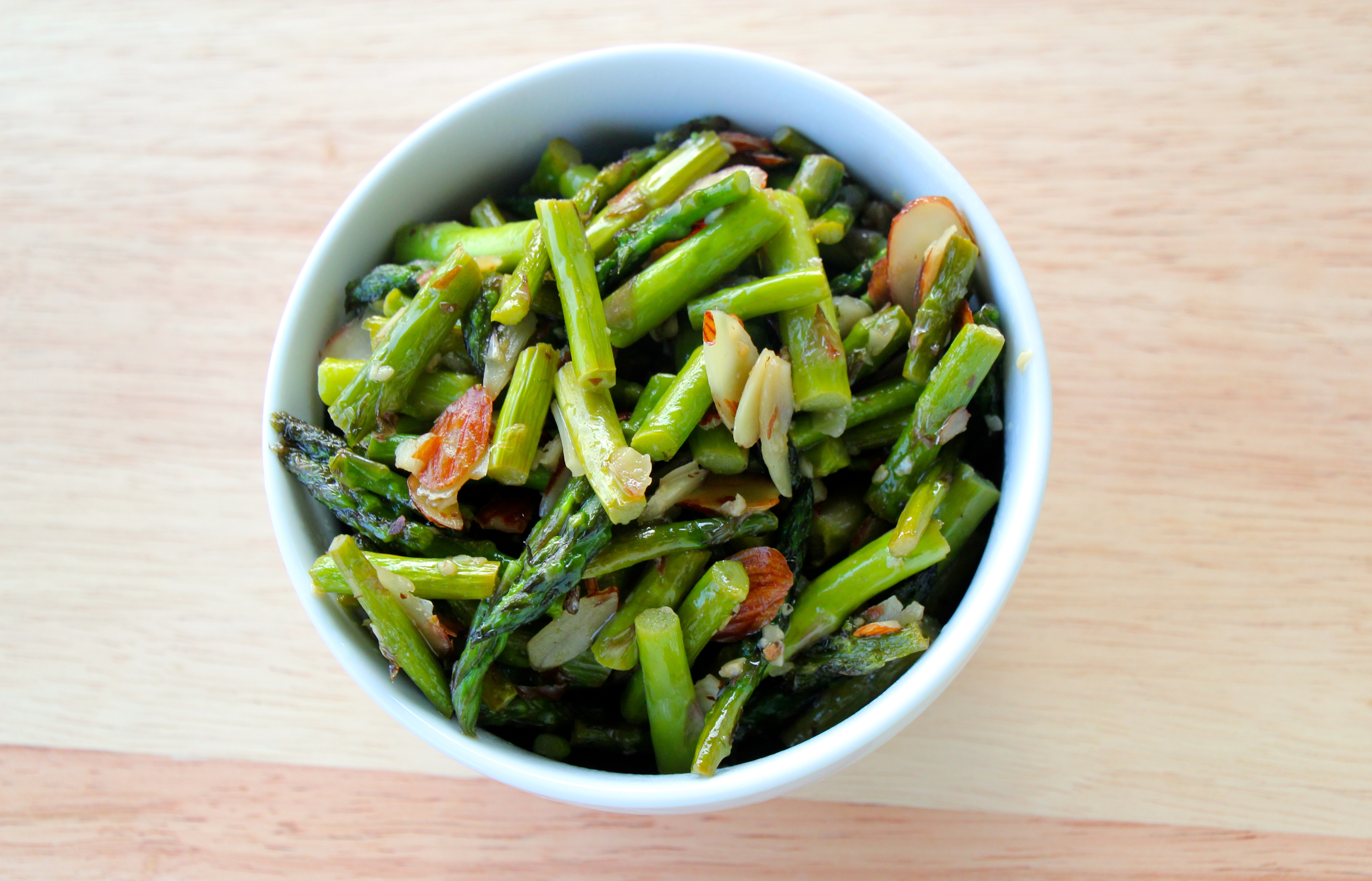 Need a new side dish? This Roasted Asparagus Salad is my favorite way to eat asparagus!