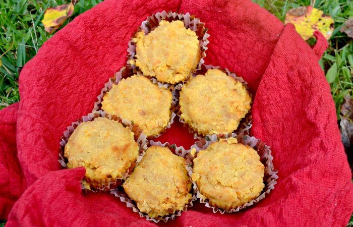 Delicious Grain Free Carrot Muffins