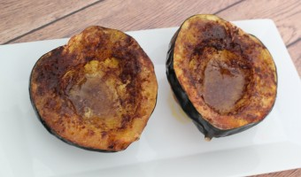 Roasted Paleo Acorn Squash Recipe