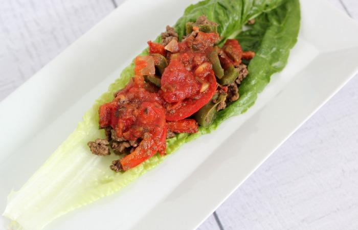 Paleo Mexican Lettuce Wraps