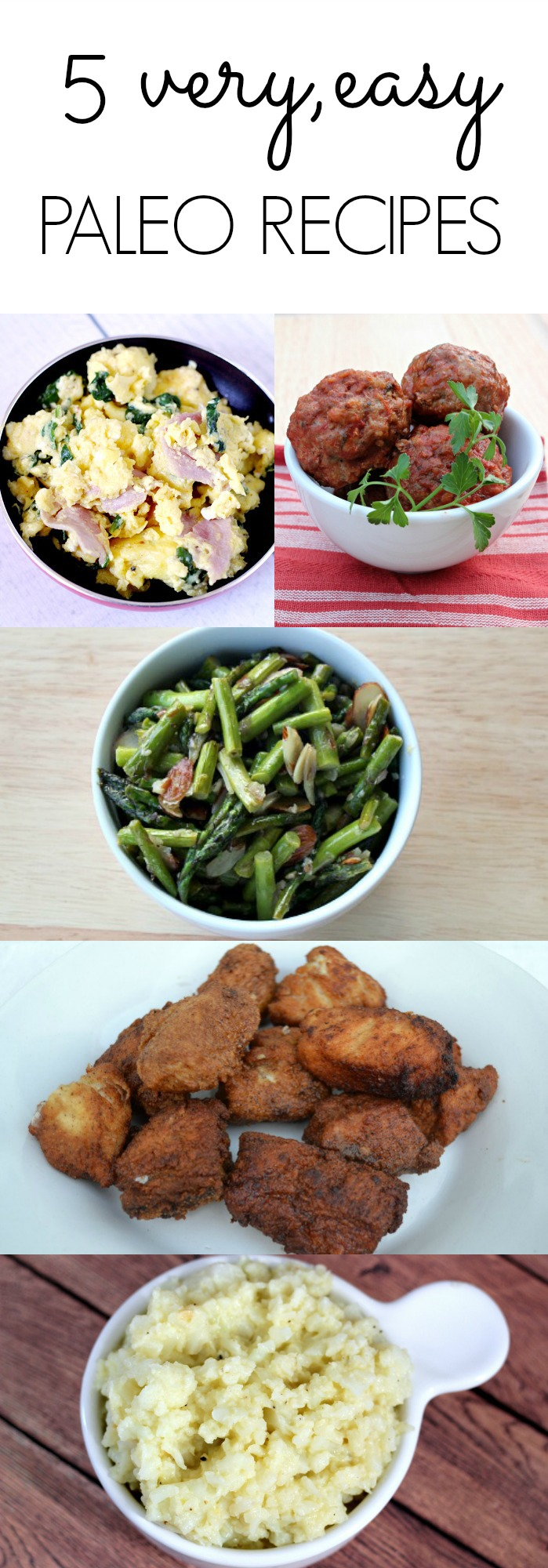 5 Easy Paleo Recipes