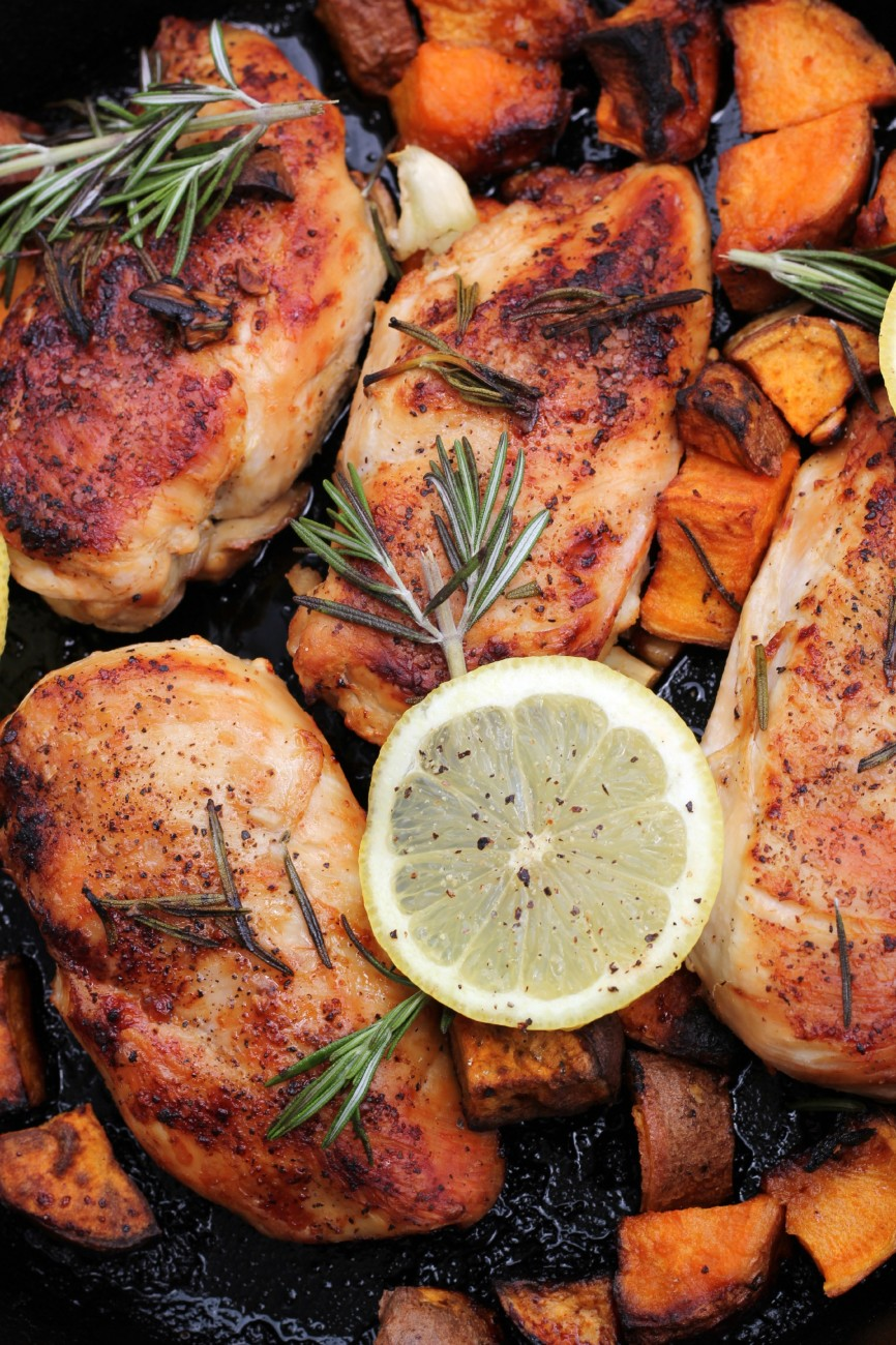 Guest Post: Bravo For Paleo, Lemon Rosemary Chicken