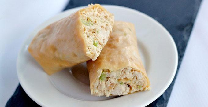Paleo Chicken Salad Wraps
