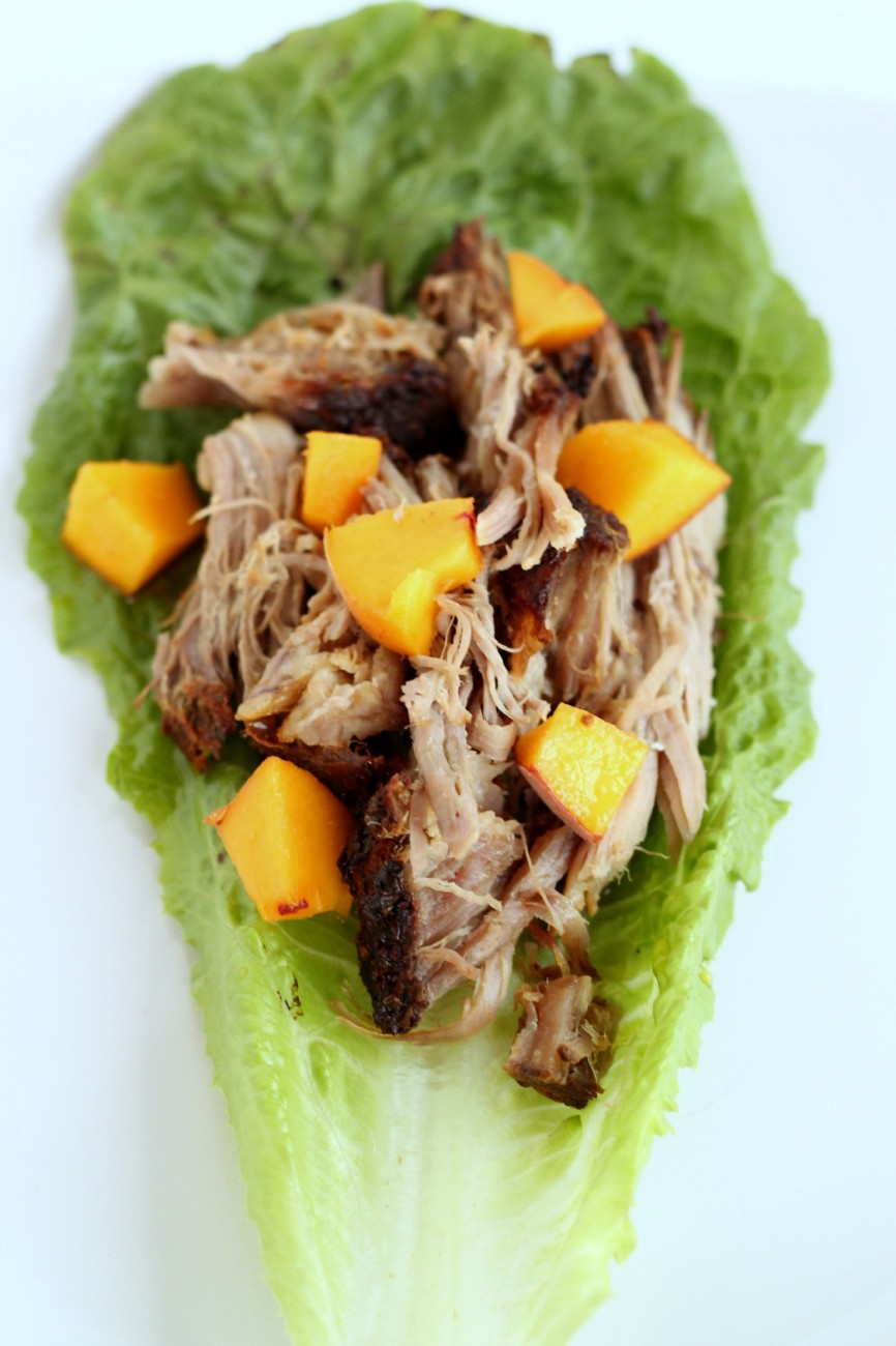 Pork Shoulder Lettuce Wraps are perfect for lunch or dinner, and easy to make!