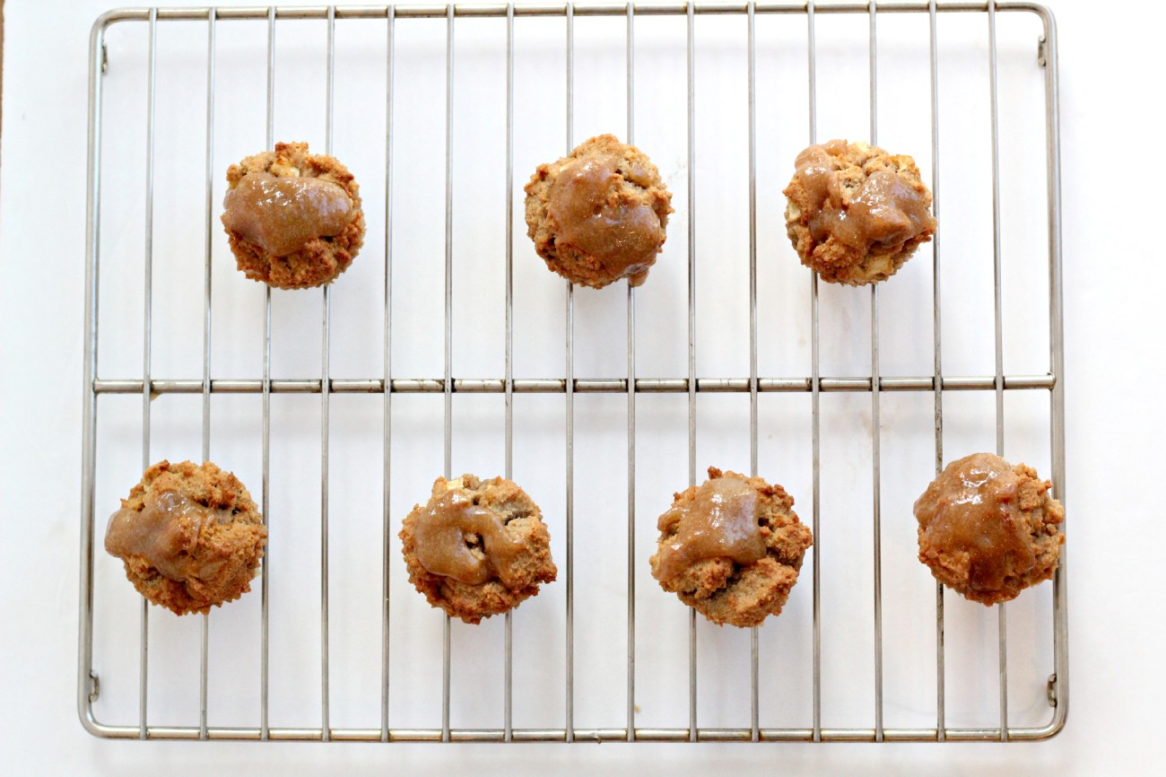 These Gluten Free Caramel Apple Muffins are to die for!