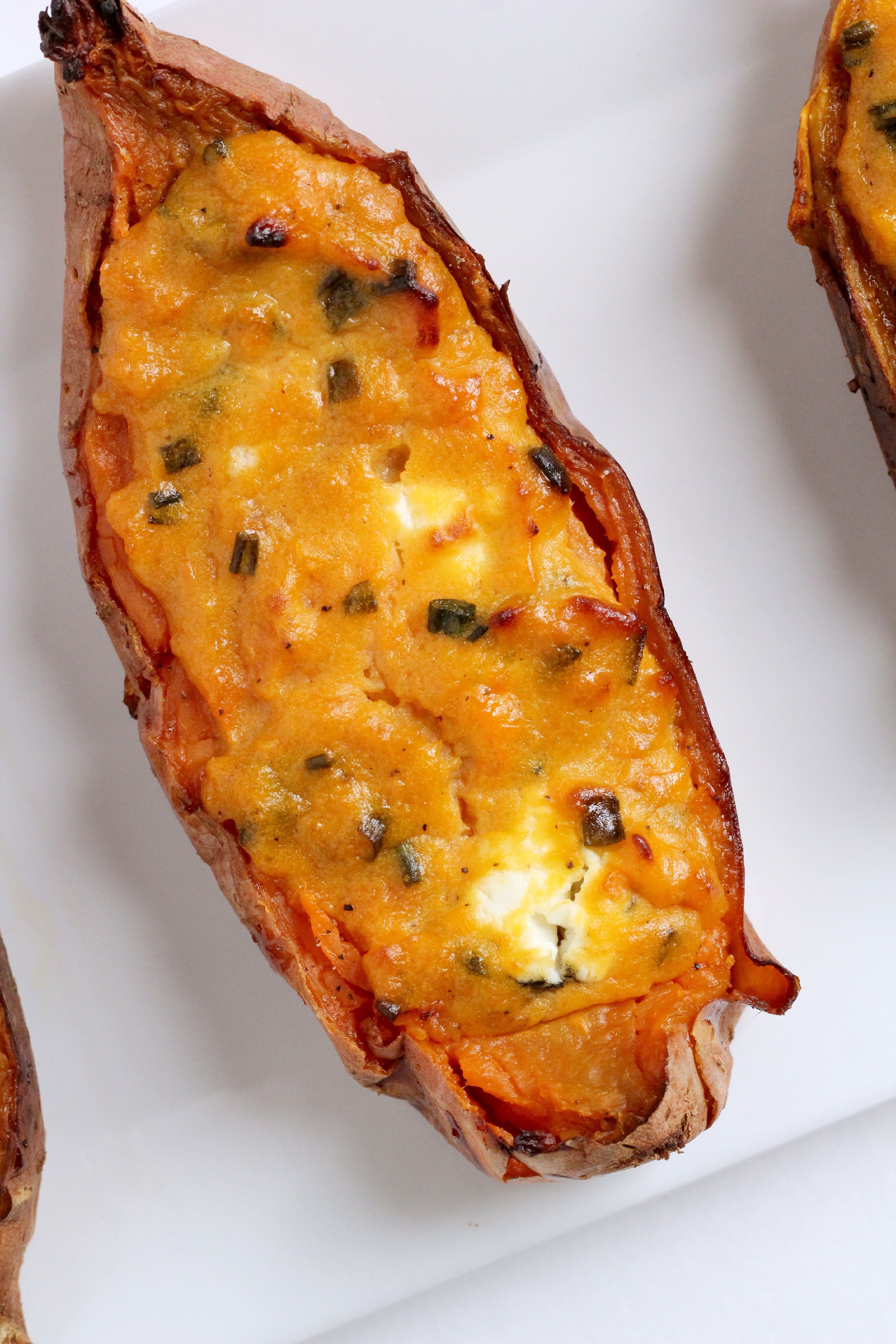 These Twice Baked Sweet Potatoes are easy to make and incredibly ...