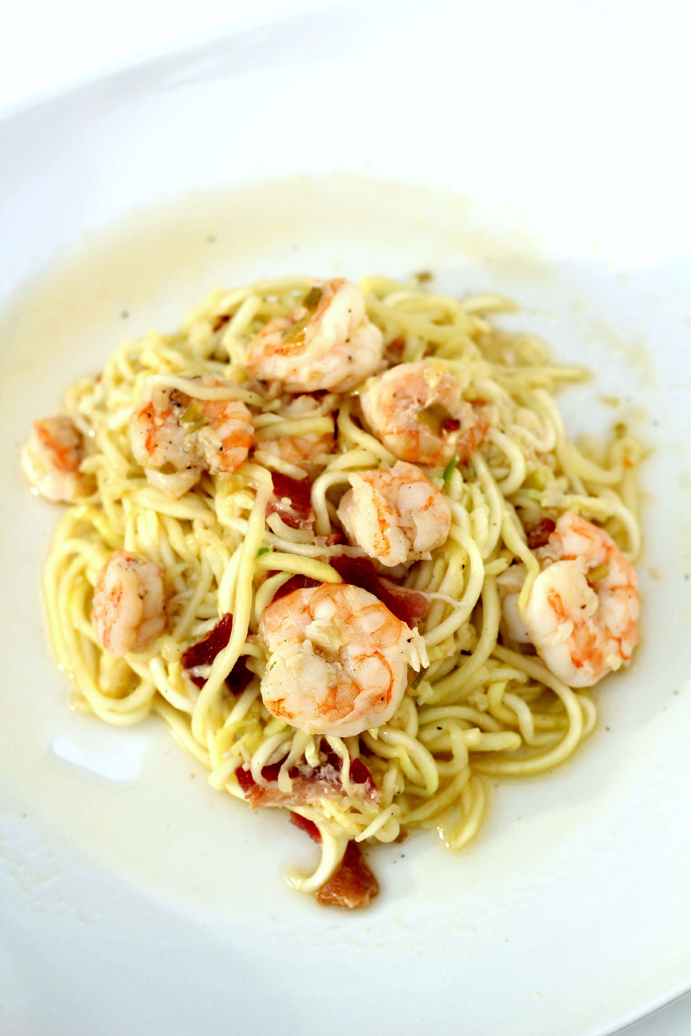 shrimp and spicy maple bacon wrapped having pasta with shrimp shrimp ...