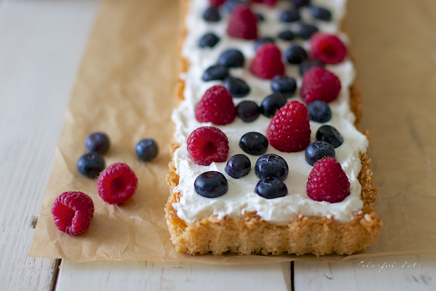 Berry Coconut Tart