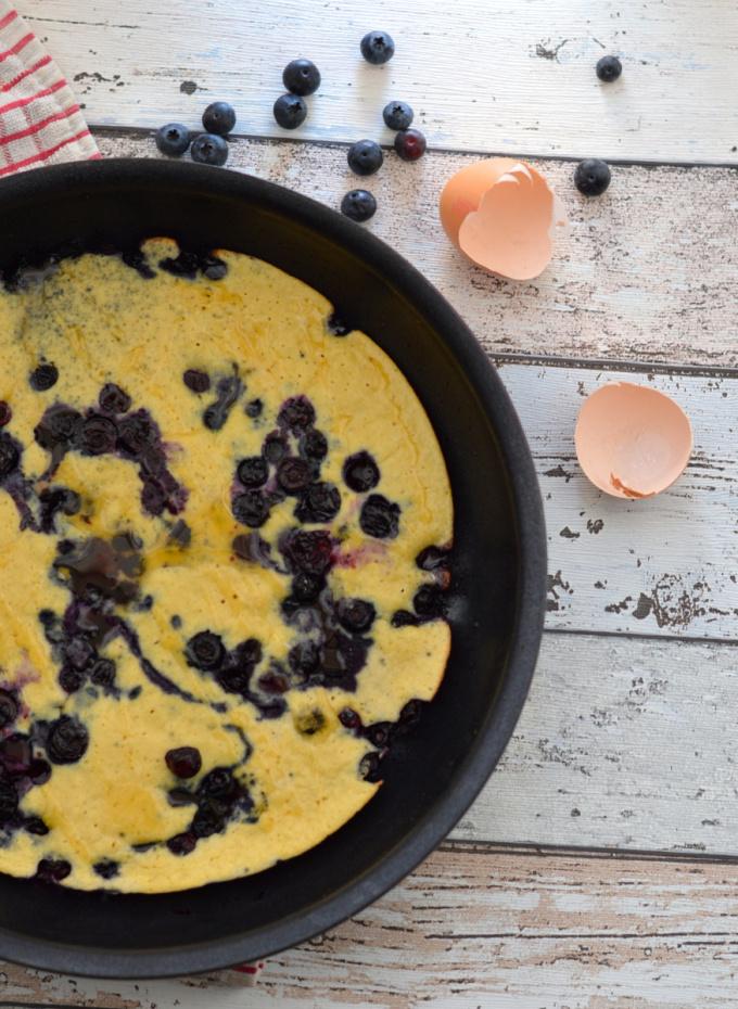 Blueberry Breakfast Slice