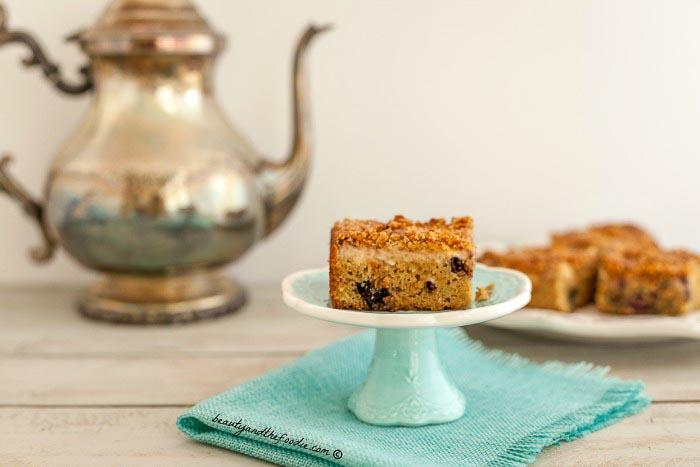 Blueberry Crumb Cake