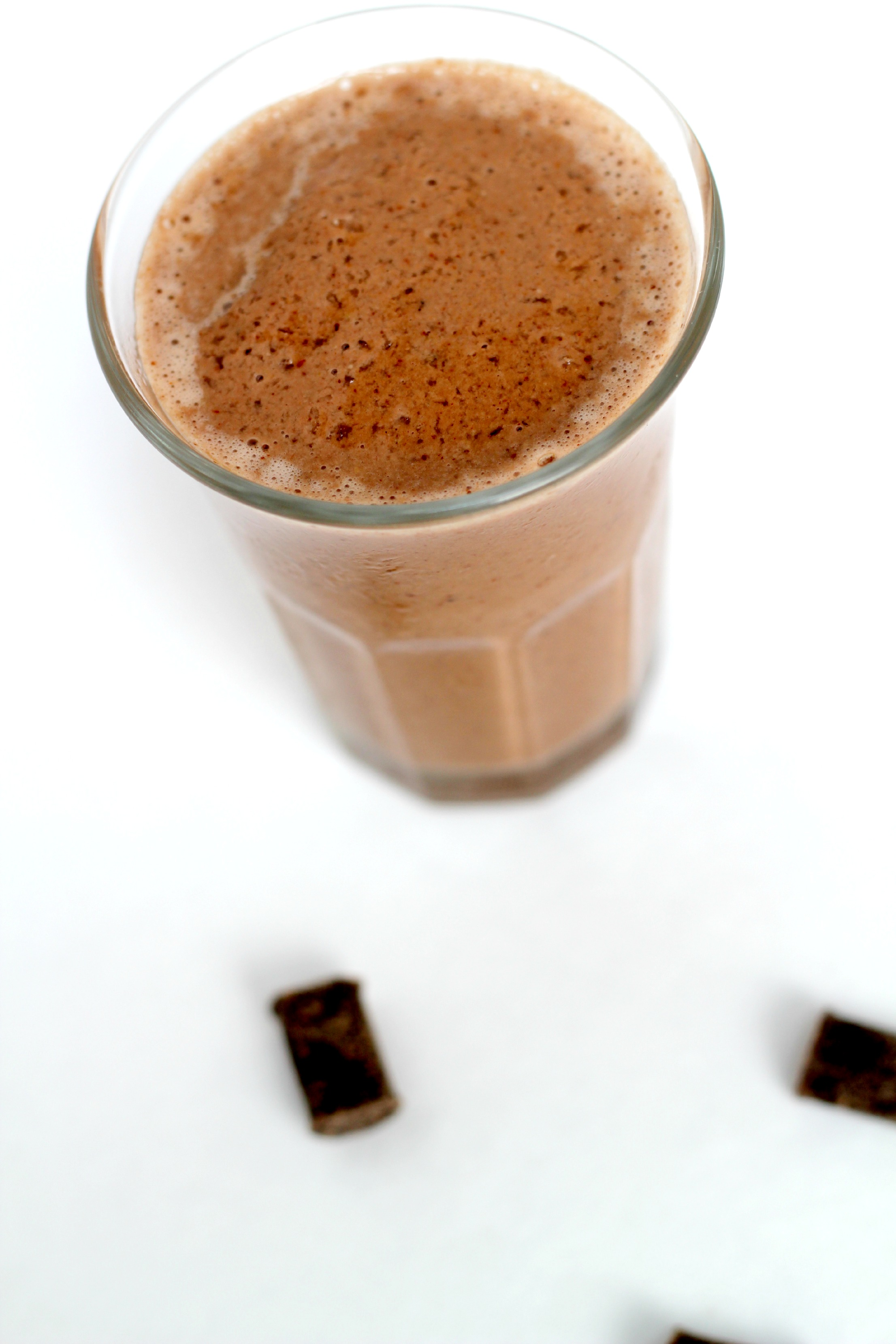 This Paleo Chocolate Smoothie is so good, you will want it for dessert.
