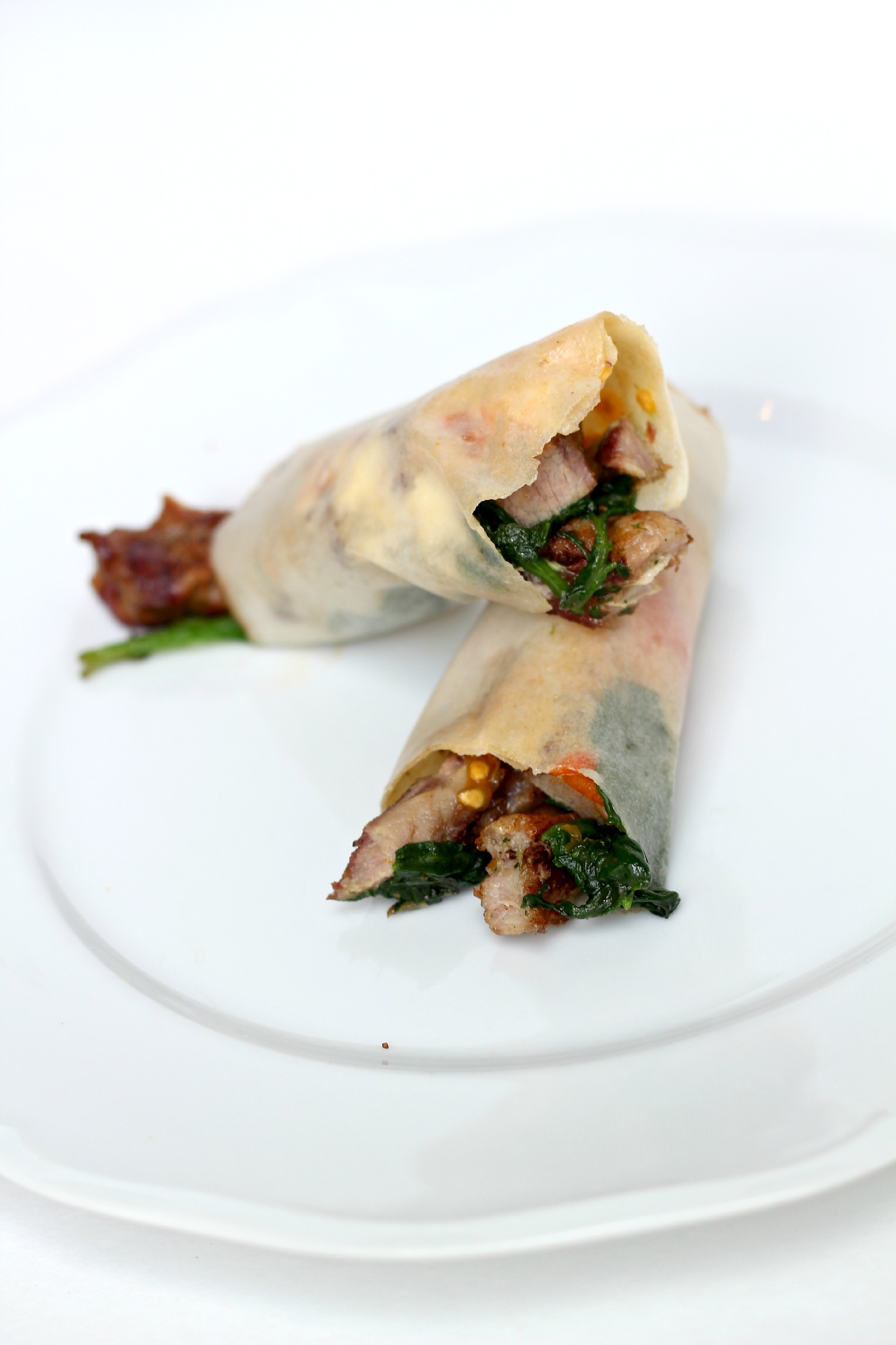This Paleo Pork wrap is PERFECT for lunch. It's packed with flavor and easy to make.