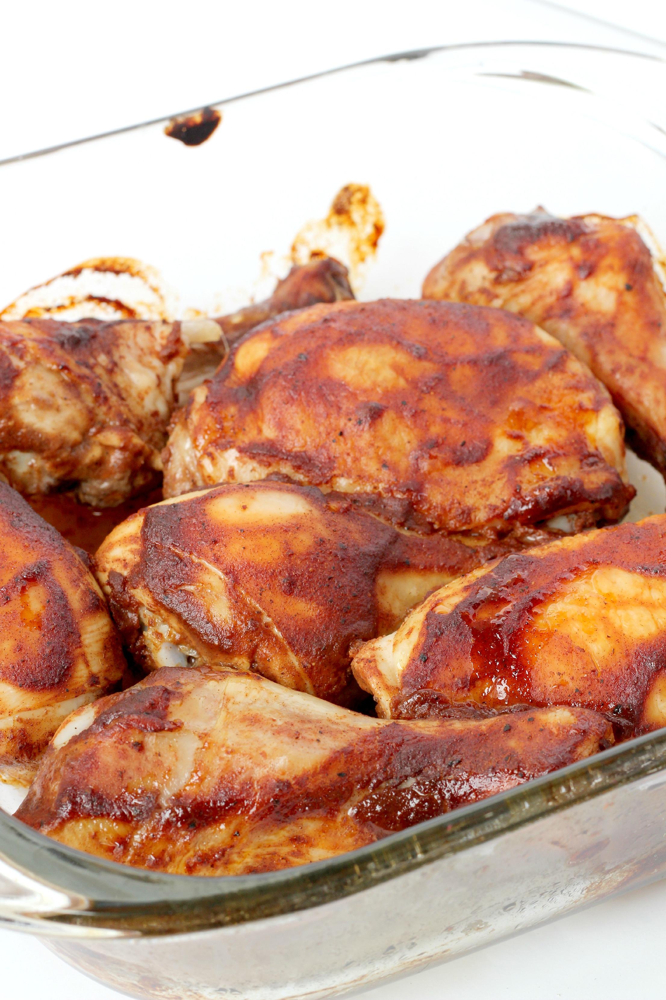 Paleo BBQ chicken
