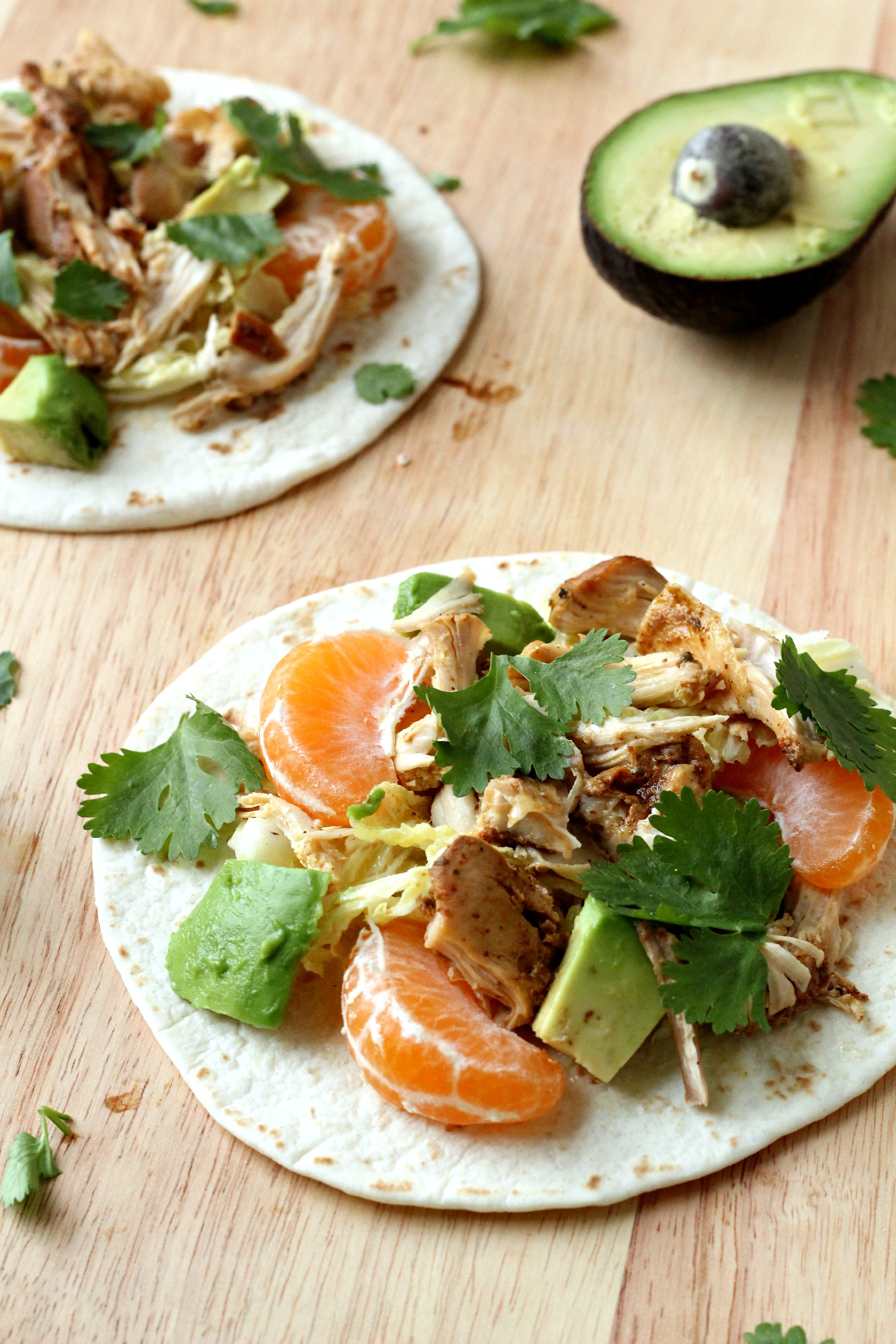 These Crispy Chicken Paleo Tacos are AMAZING! A perfect weeknight meal.