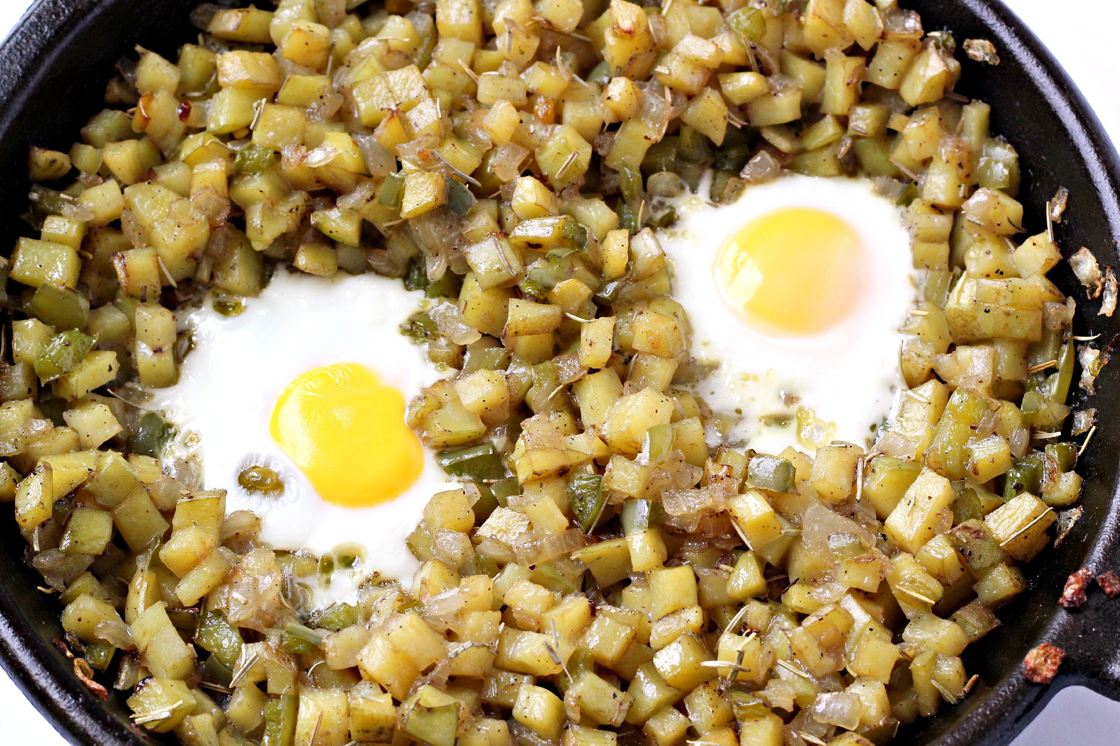 This Paleo Breakfast Hash is so simple but so satisfying! Great for a weekend breakfast.