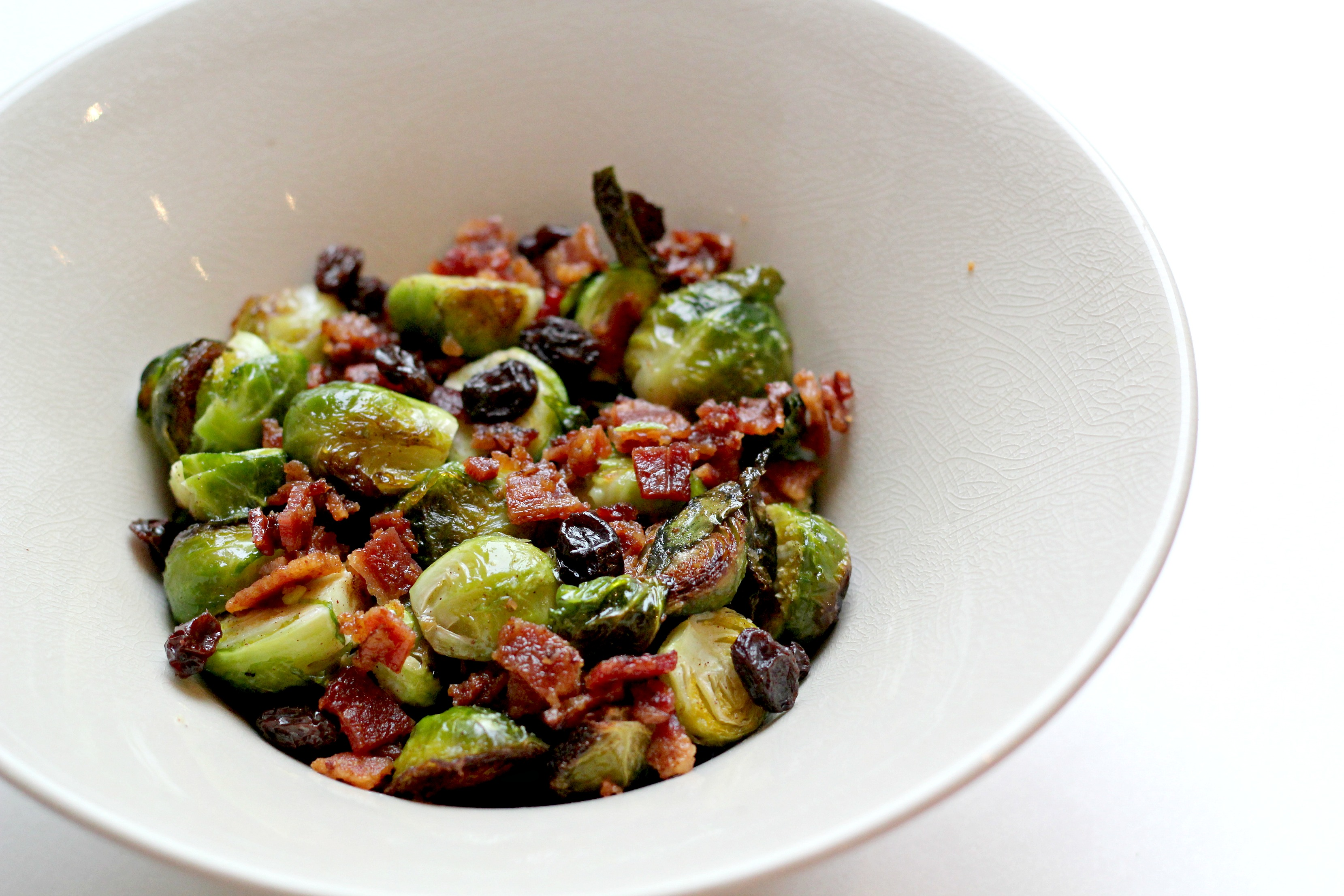 Brussel Sprouts with Bacon and Cinnamon is the perfect side dish and only takes a few simple steps to make.