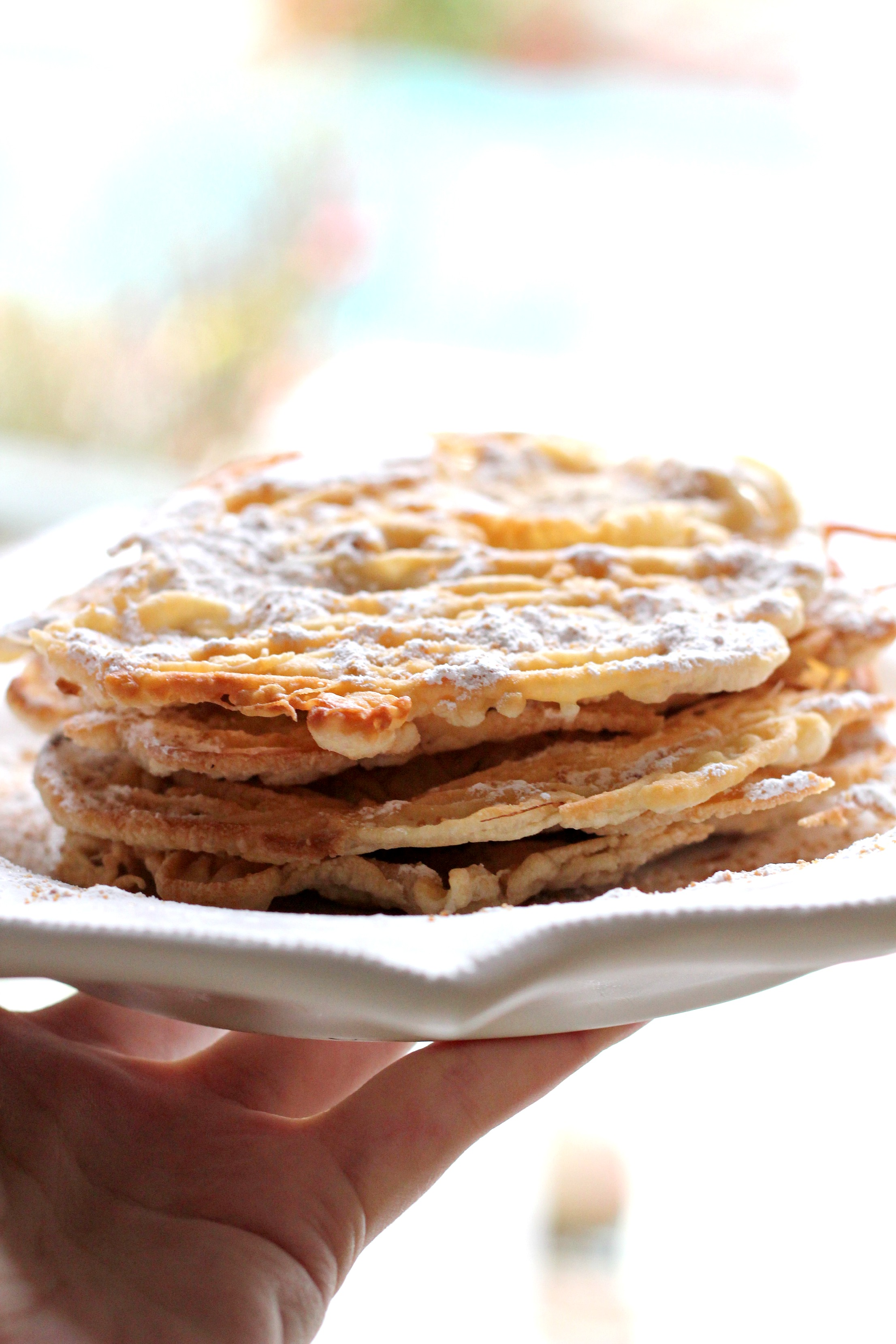 These Paleo Funnel Cakes taste just like the real thing! Who knew it could be done? We make these for the kids!