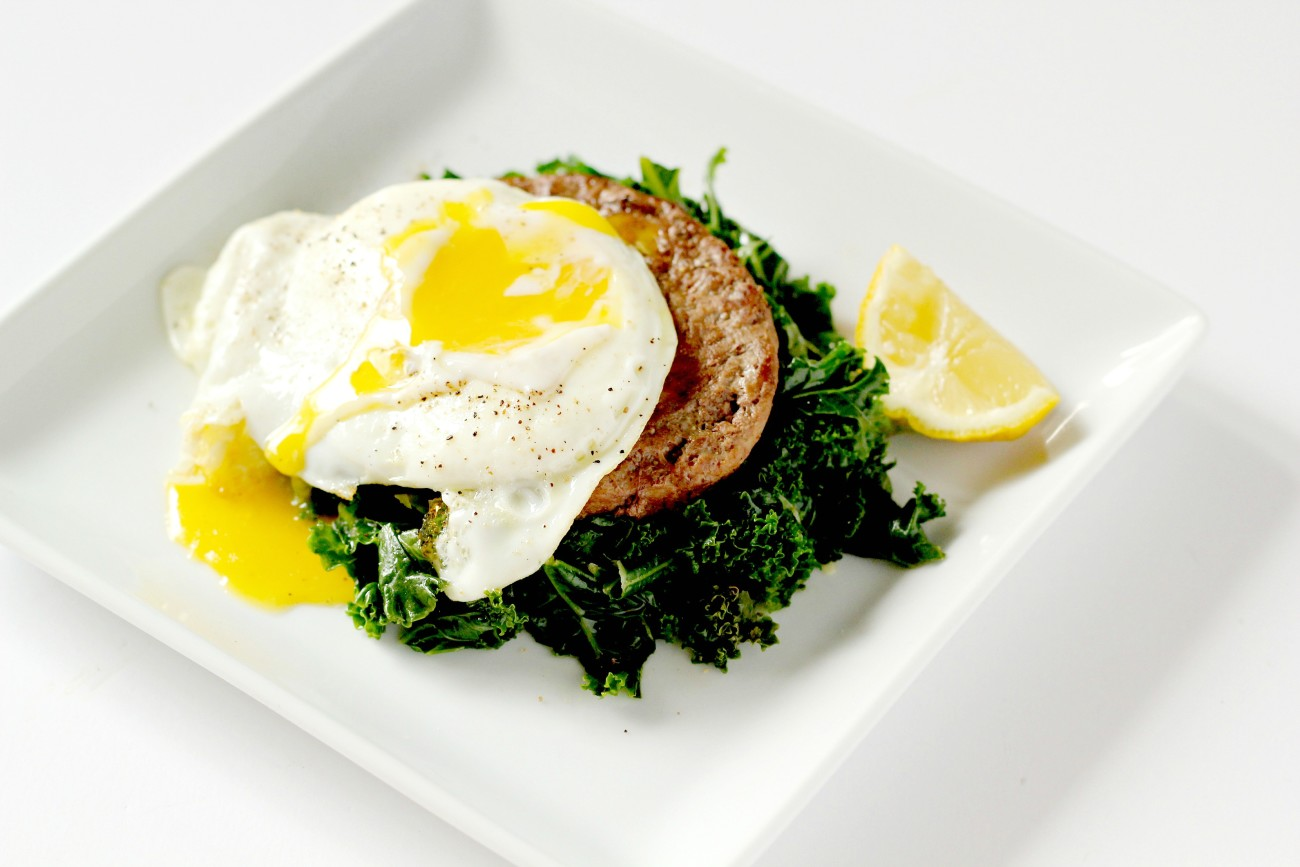 These Grass Fed Burgers with the Perfect Fried Egg are so easy to make and can be used for breakfast or lunch or dinner!