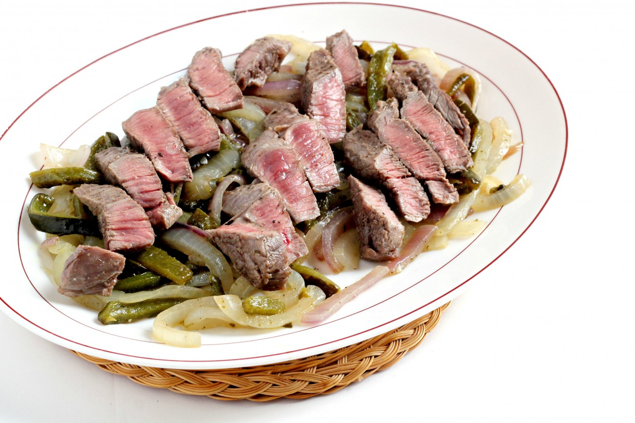 Steak with Poblano 1