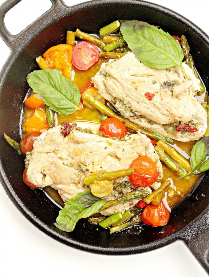 whole-30-pesto-chicken-with-sun-dried-tomatoes