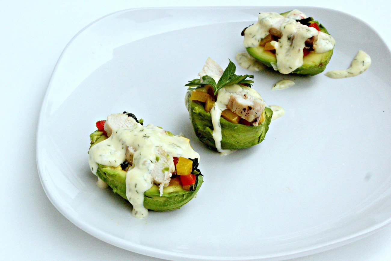 Stuffed Avocado 2