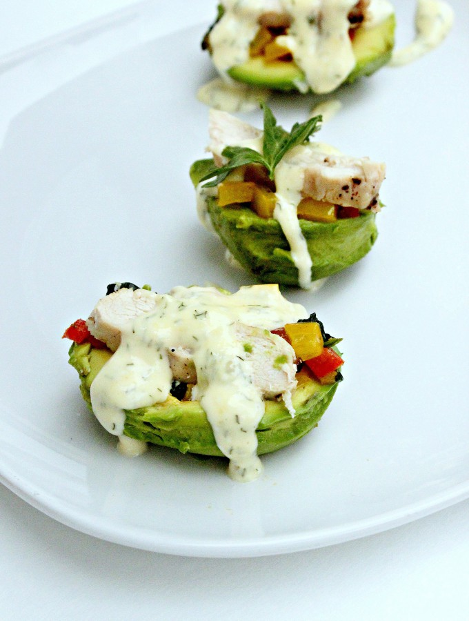Stuffed avocado 1